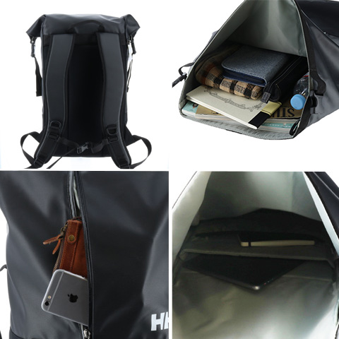 8e598389cf0 The backpack which had design and utility in the opening of the roll top  type who was easy to do quantity にわせて adjustment of the baggage.