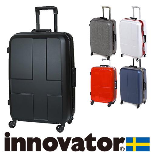 スーツケース キャリー ハード 旅行!イノベーター innovator スーツケース 中型 60L 3泊~5泊程度 inv58 メンズ レディース プレゼント ギフト 【送料無料】 ラッピング【あす楽】
