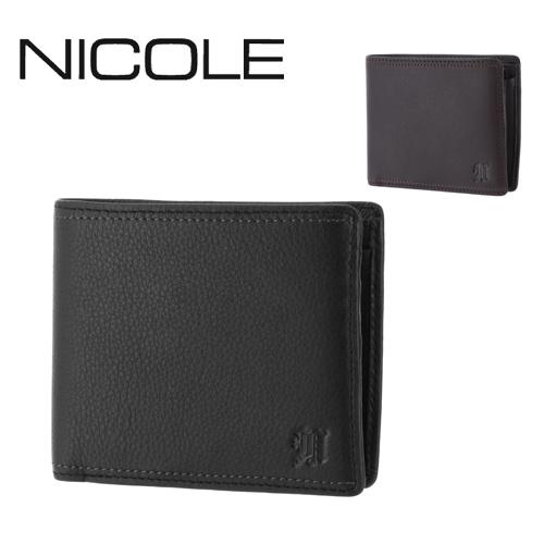 ニコル NICOLE 二つ折り財布 【MENDI II/メンディII】 7304200 メンズ ギフト  プレゼント ギフト【送料無料】 ラッピング 週末限定 あす楽