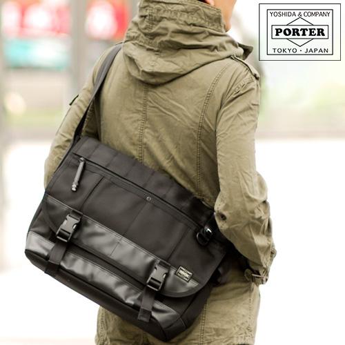 《カードで最大P17倍》 吉田カバン ポーター ヒートPORTER HEAT メッセンジャーバッグ(L) ブランド メンズ 703-07967 吉田かばん ポ-タ- バッグ かばん 母の日 あす楽 送料無料