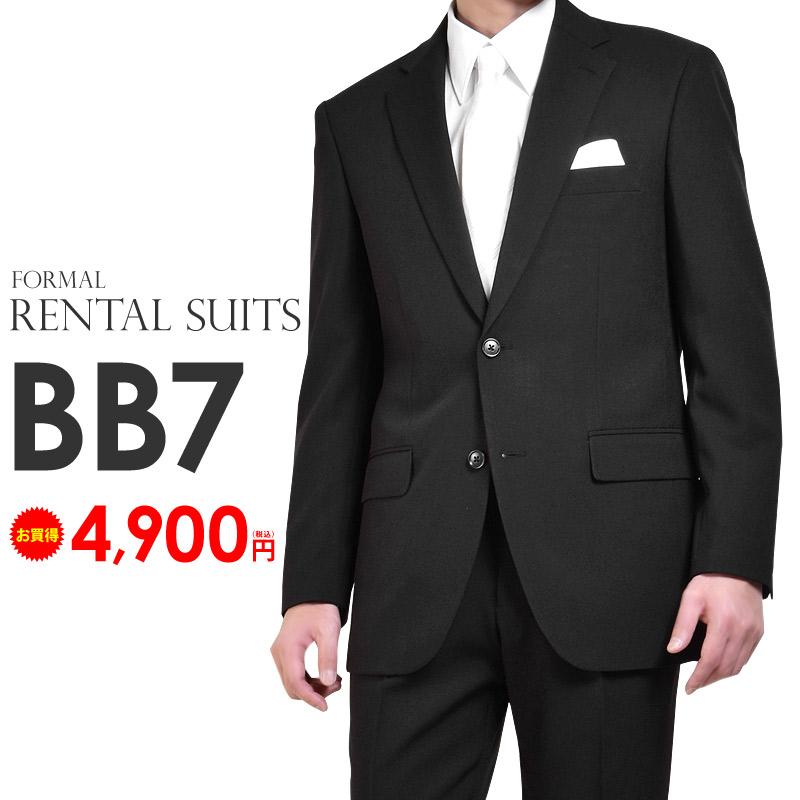 Formal dress mourning dress suit rental four circle black men BB body 7  (down eyes 180cm tall , waist 98cm)