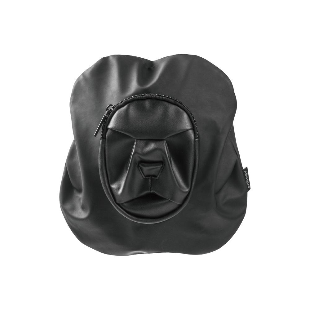 アニマル 激安 激安特価 送料無料 ショルダーバッグ 動物 鞄ブラック 豊富な品 コンパクト 子ども 公式 一律送料無料 ミニバッグ ORIBAGU折り紙バッグ ブラックライオン