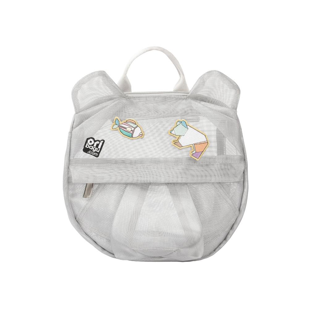 バックパック ショルダーバッグ 動物 鞄コンパクト 奉呈 子ども 一律送料無料 宅配便送料無料 ORIBAGU折り紙バッグ メッシュベア 公式 ミニバッグ