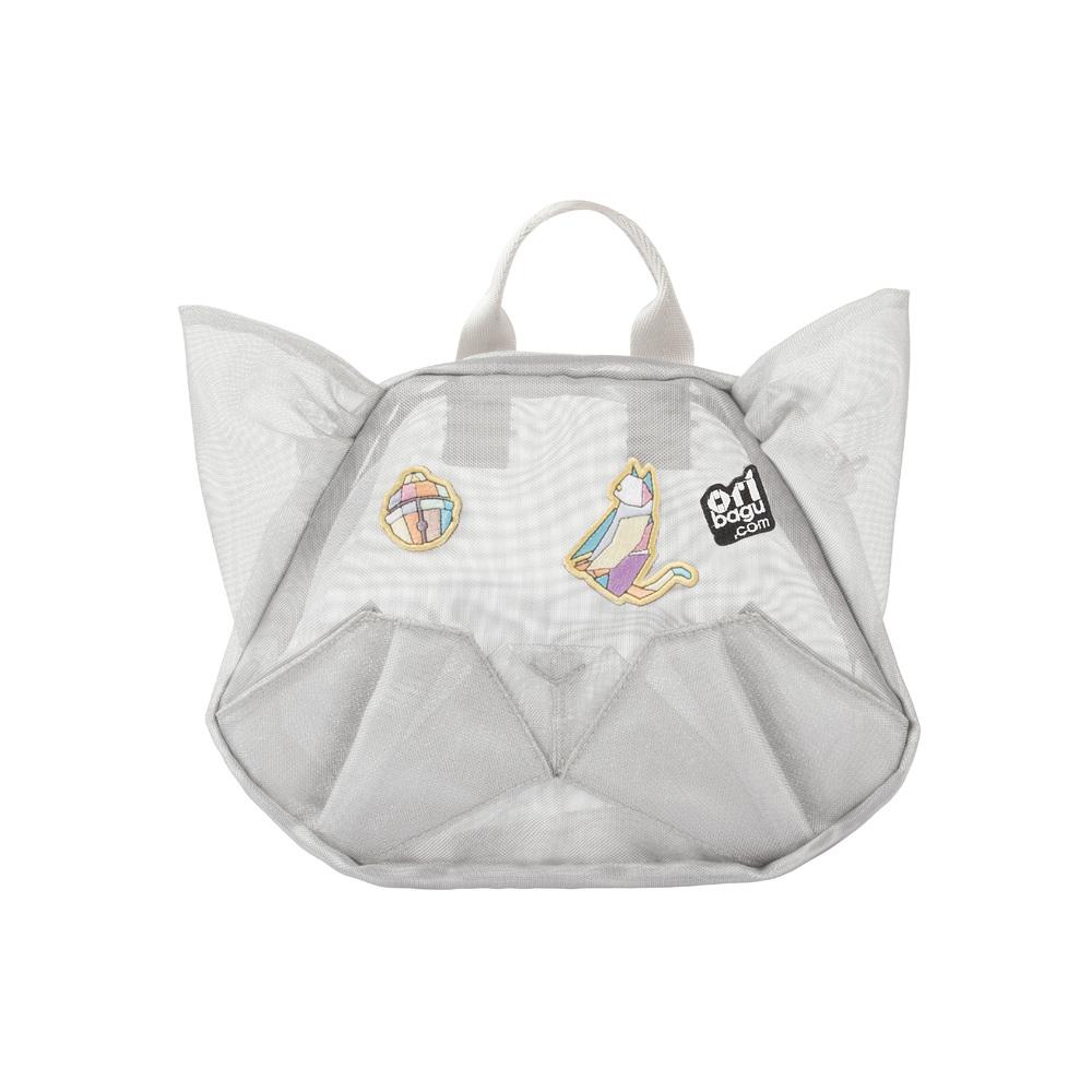 スーパーセール期間限定 バックパック 日本正規代理店品 ショルダーバッグ 動物 鞄コンパクト 子ども ORIBAGU折り紙バッグ 公式 メッシュキャット 一律送料無料 ミニバッグ