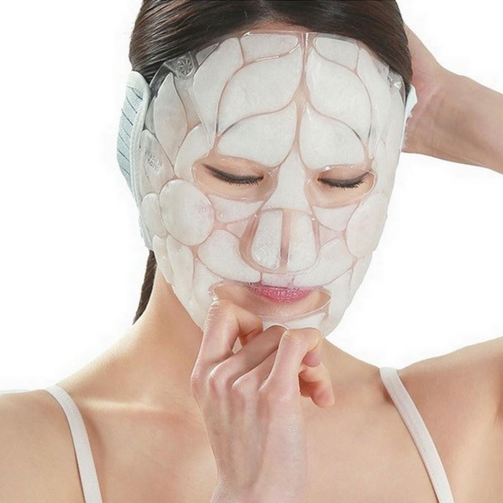 再再販 DKCC アイスクーリング マスク むくみとり 肌沈静 肌美容 解熱効果 毛穴ケア 疲労解消 お気に入り 集中力強化