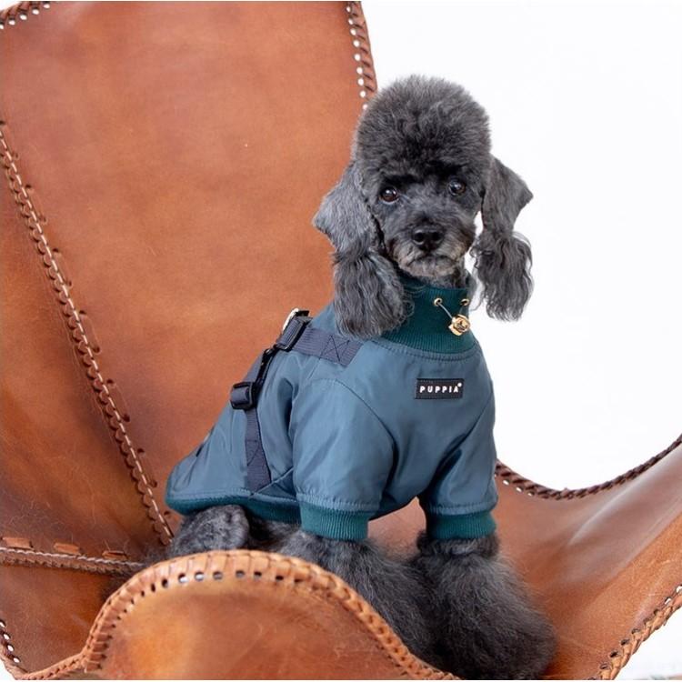 puppia 上等 犬用 売買 ドミニクハーネスジャンパー