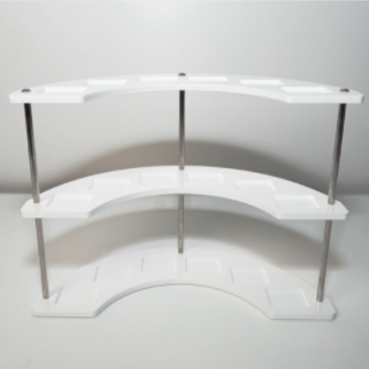 IDK 韓国百貨店 コレクションスタンド アクリル アルミニウム製 低価格 DIY ディスプレイスタンド idk038_black ブロックフィギュア 特価キャンペーン W240×D100×H175mm