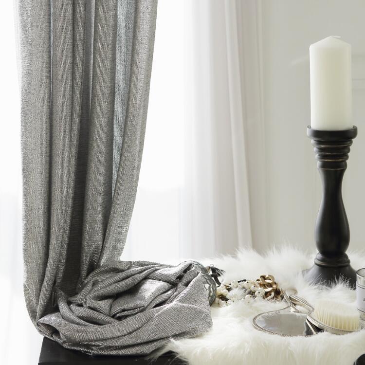 ブリングソフトカーテン 定番スタイル Bling soft 海外並行輸入正規品 シルバー curtain