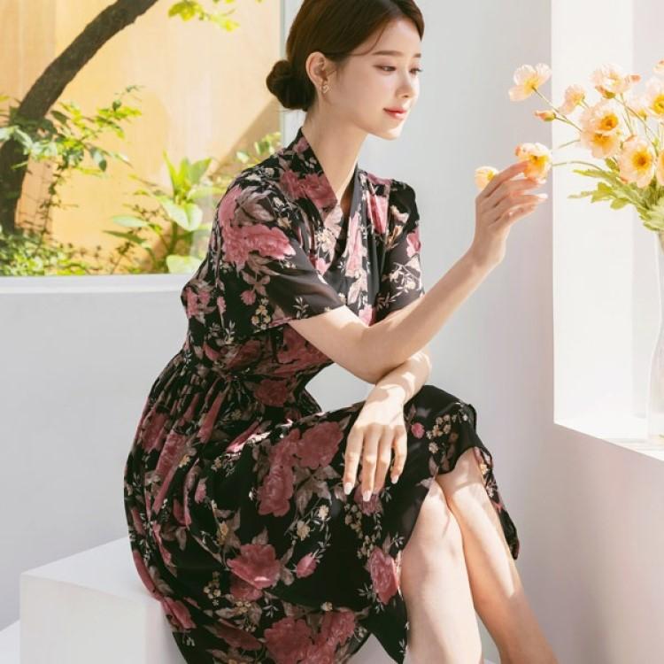 韓服スタイル HEERADRESS フィラドレスワンピース 高価値 100%品質保証
