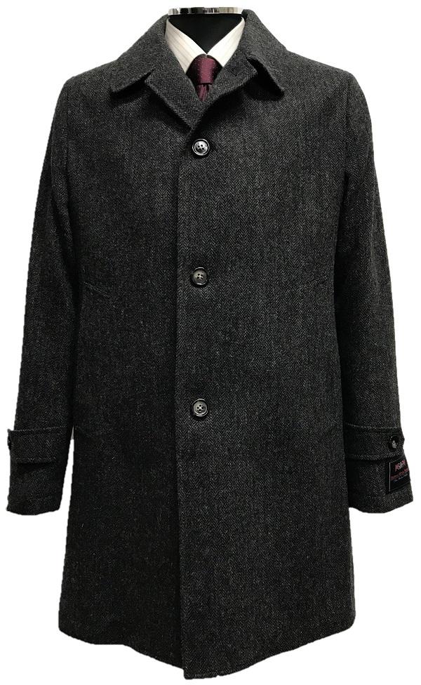 ブリティッシュウールブレンドの軽く薄手のウールコート スーパーSALE 20%OFF ウール100%ステンカラーコート M~LL ブラウン 低廉 グレー 引出物