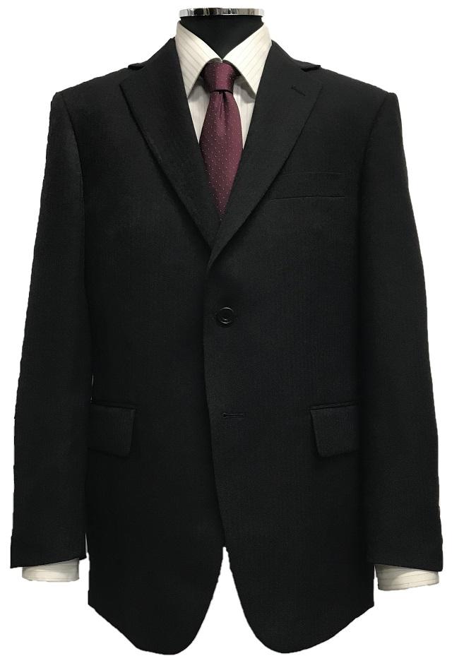 ご家庭の洗濯機やシャワーで洗えるウォッシャブルスーツ 18%OFF オールシーズン 大きいサイズ チャコールグレー 今ダケ送料無料 メンズE体アジャスター付ウォッシャブル2つボタン2タックスーツブラック