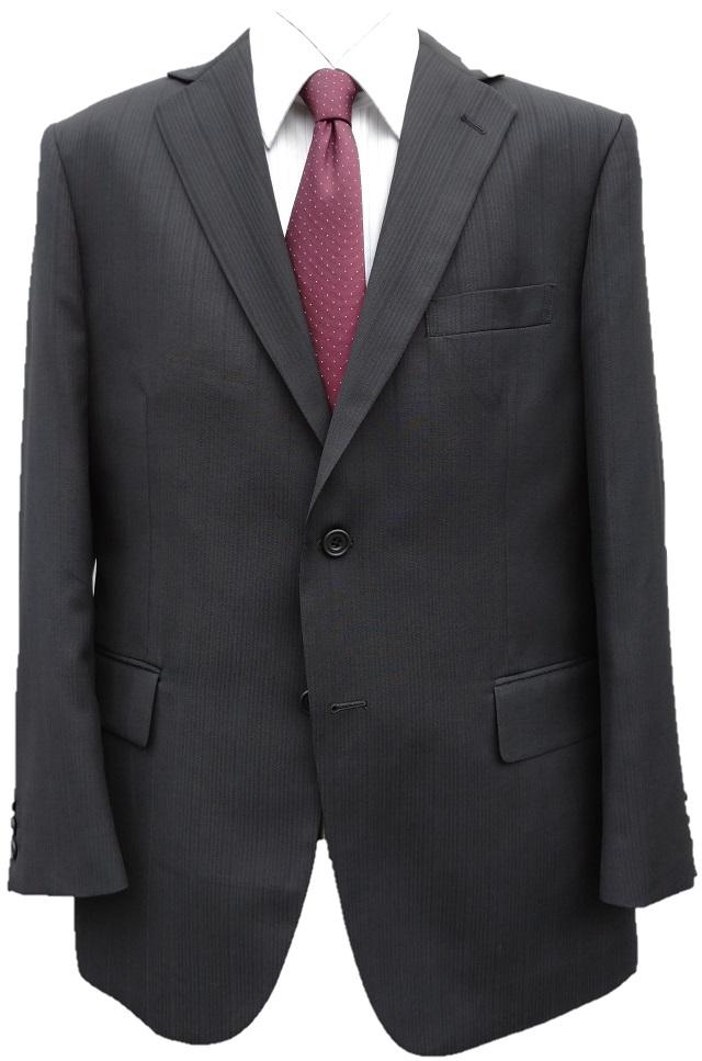 【あす楽】オールシーズン【大きいサイズ】洗えるアジャスター付き2ボタンスーツ 3色 E体