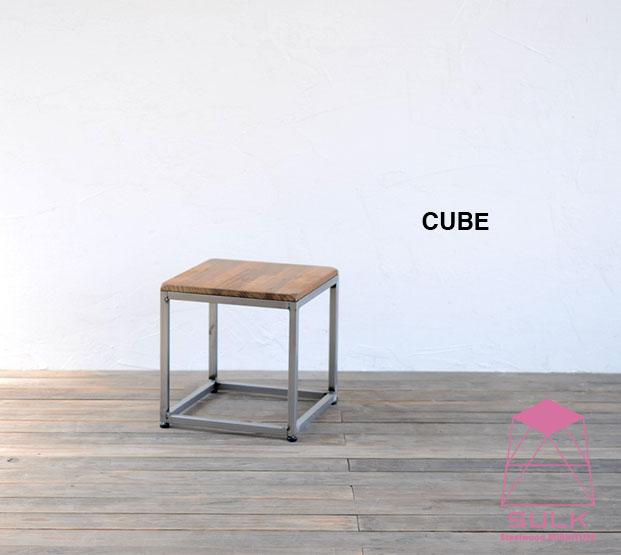 スツール サイドテーブル 踏み台などとして様々なシーンでご使用頂けます 安心と信頼 アイアン チェア いす イス 椅子 踏み台 ミニテーブル 飾り台 店舗什器 捧呈 北欧 模様替え パイン おしゃれ キューブ