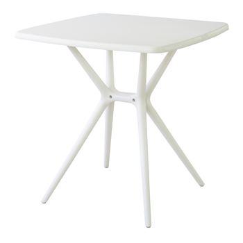 【2個セット】 プラスチックテーブル 北欧 インテリア おすすめ 家具 東谷 AZUMAYA お得なセット買い