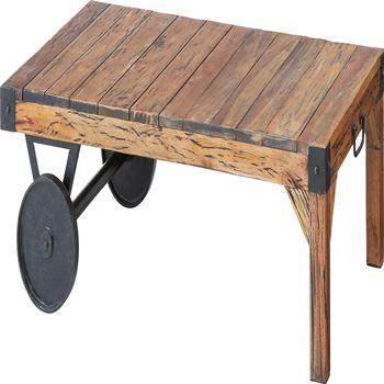 トロリー テーブル W106×D66×H33cm 北欧 インテリア おすすめ 家具 東谷 AZUMAYA