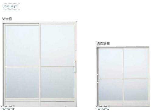 YKKAP サニセーフ2 引戸 Sタイプ(引込み戸・片引き戸)半外付型 片引き戸 W1770 H1816 換気框 可動 セット品番 5BH-1718-2B-01