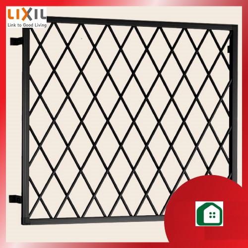 面格子 LIXIL リクシル TOSTEM トステム HACBAA_11911 機能美を感じさせるシンプルなデザイン。他の窓まわりシリーズとデザインコーディネートが可能です。 2枚以上で送料無料 面格子 LIXIL リクシル TOSTEM トステム 面格子シリーズ アルミ面格子 関東間 ヒシクロス HACBAA_11911