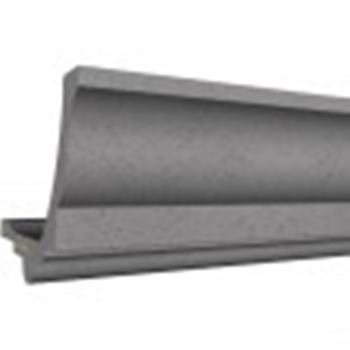 人工成型石 サンメントス みはし株式会社 モールディング MJ1065D 内装用 グレー