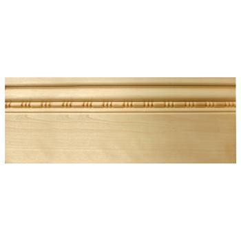 SD719WHW みはし株式会社 サンデンモール 内装用 木製モールディング 用途:巾木材質