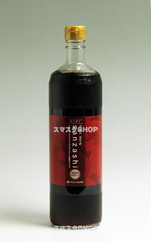 フルーツハーブ さんざし sanzashi 900ml×12本(き釈タイプ)