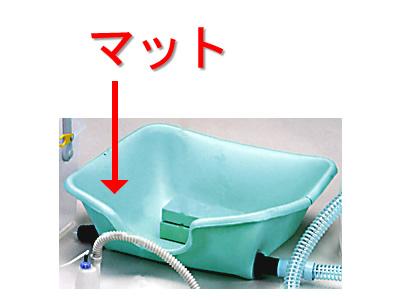 介護用シャンプー器 マットのみ単品販売 KG-7000【介護シャンプー】