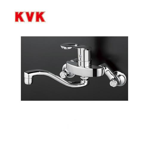 [KM5000TH]KVK キッチン水栓 キッチン用水栓 シングルレバー式混合栓 上向パイプ 泡沫 逆止弁 キッチン用 混合水栓 キッチン 水栓 蛇口 【送料無料】 キッチン水栓金具 壁付けタイプ おしゃれ