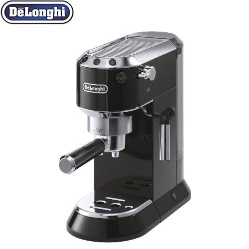 [EC680BK] デロンギ コーヒーメーカー エスプレッソ・カプチーノメーカー カプチーノもカフェラテも簡単に 多様なお好み設定 ブラック