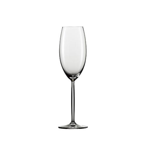 [30075] ツヴィーゼル ワイン ワイングラス ディーヴァ シャンパン 最大径72×高さ247 6脚 293cc 【送料無料】【メーカー直送のため代引不可】