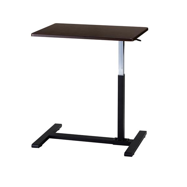 ベッドテーブル ガス圧昇降テーブル【サイドテーブル】