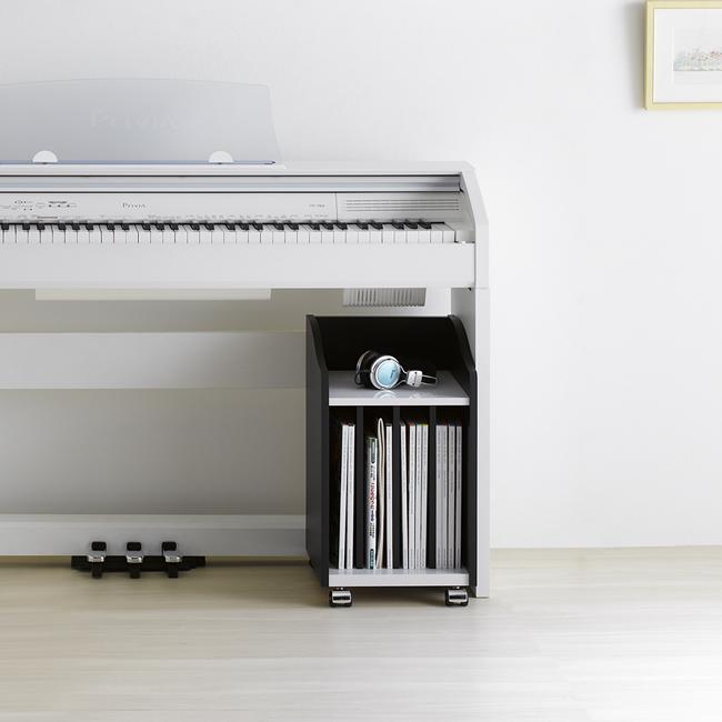 ピアノ下収納ラック AS-PW30