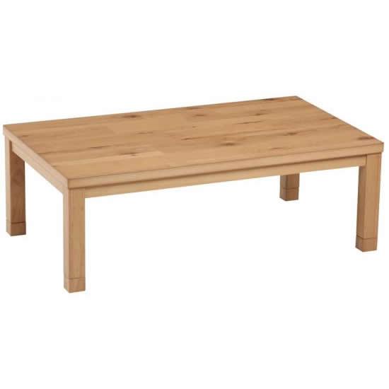 こたつテーブル ラインズ135サイズ W135×D80×H36 【ローテーブル センターテーブル 座卓 和机 ちゃぶ台 幅135cm ハロゲンヒーター 暖房器具 角 長方形 おしゃれ】
