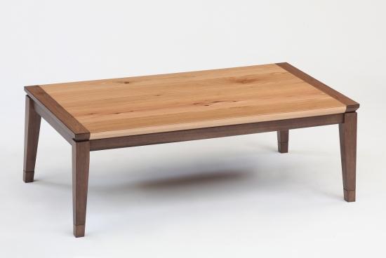こたつテーブル エール120サイズ W120×D70×H36 【ローテーブル センターテーブル 座卓 和机 ちゃぶ台 幅120cm ハロゲンヒーター 暖房器具 角 長方形 おしゃれ】
