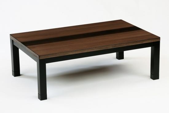 こたつテーブル エーベル120サイズ W120×D75×H36 【ローテーブル センターテーブル 座卓 和机 ちゃぶ台 幅135cm ハロゲンヒーター 暖房器具 角 長方形 おしゃれ】