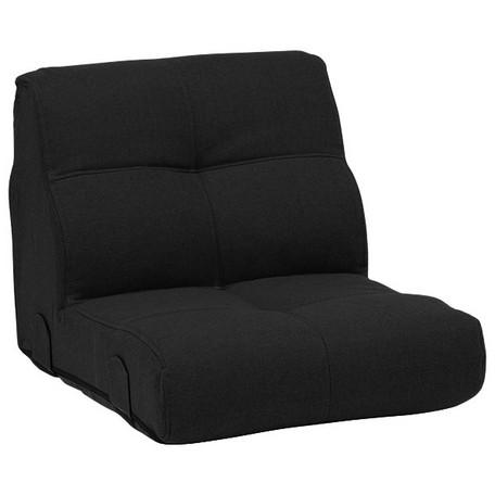 コーナーソファー トリニティBK-1P 1Pソファー ブラック 一人掛けソファ 黒色 一人掛けソファー 黒 ソファー