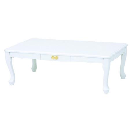 MT-6041WH 折畳 白色 折畳式 ローテーブル テーブル ホワイト センターテーブル 折れ脚テーブル 白 折りたたみ 折り畳み