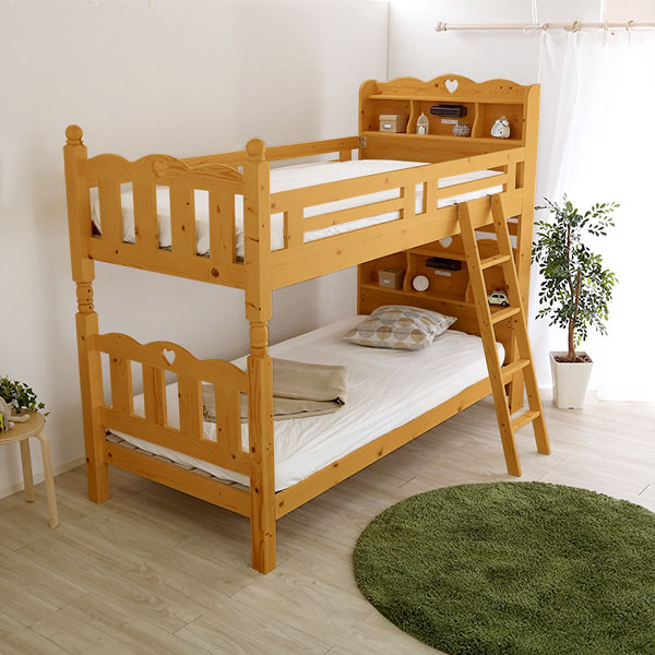 耐震仕様のすのこ2段ベッド CERRADO-セラード- ベッド すのこ 2段 開店祝 当店おすすめ 特典 お歳暮 ギフトラッピング