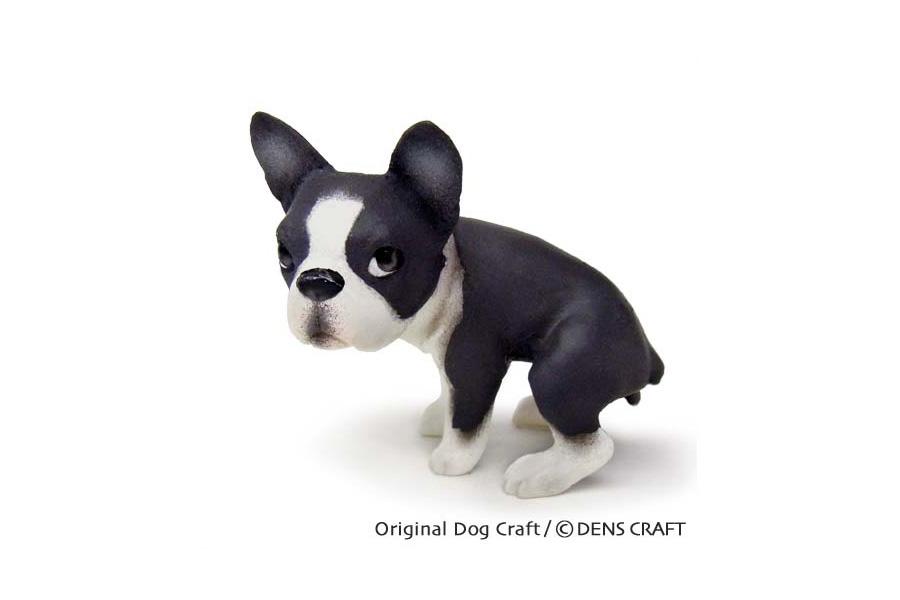 お得クーポン発行中 おしゃれ ハンドメイド denscraft グッズ インテリア ウ ボストンテリア 限定価格セール Dog@CUBE チング