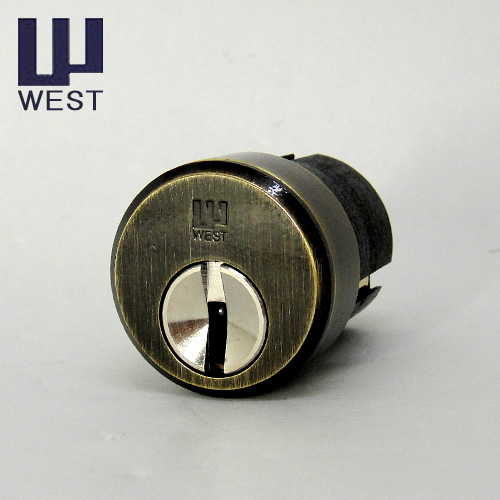 WEST 917リプレイスシリンダー KODAI ASUKA向け  玄関 主な使用ドア:古代 アスカ 装飾錠 など ウエスト ASUKA