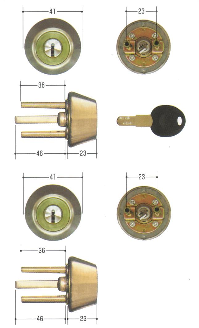 2個同一セット GOAL(ゴール) D9シリンダー ADタイプ GCY-115 AD/GK/TDD