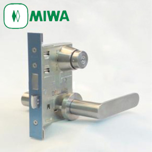 MIWA LAシリーズ レバーハンドル錠セット キー3本付属 鍵 美和ロック 13LA LA・MA