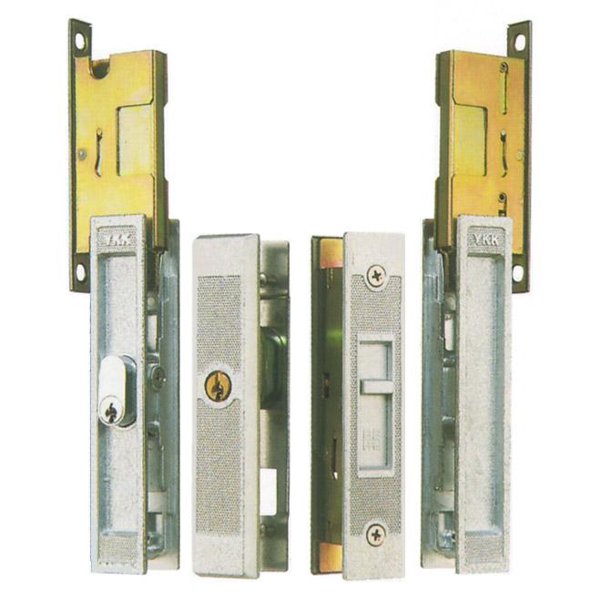 WEST製 YKK アルミサッシ 召合錠+戸先錠 引き戸 SMKH-303 SMKH303 引戸/引違戸