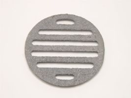鋳物目皿 高品質新品 人気の製品 丸ロストル直径105mm