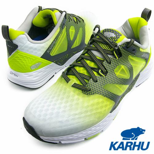 KARHU カルフ FUSION ORTIX MRE ホワイト/ライムパンチ【送料無料】メンズ・レディース ランニングシューズ