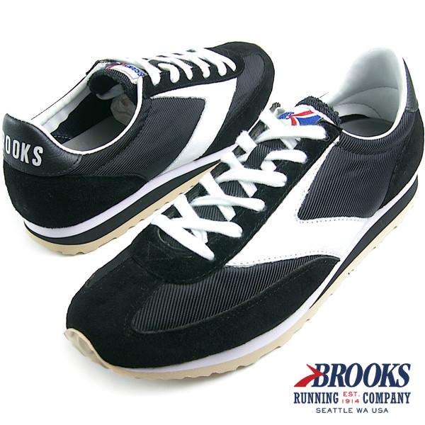 BROOKS HERITAGE ブルックス ヘリテージ メンズ スニーカー VANGUARD (125) Black/White