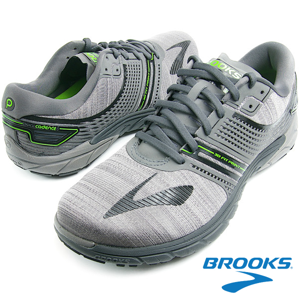BROOKS ブルックス MEN メンズ スニーカー CADENCE 6 (012) CASTLE ROCK/BLACK/GREEN FLASH