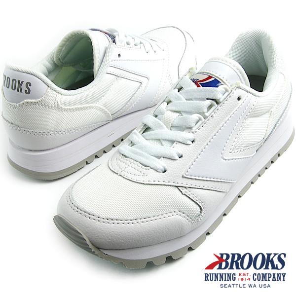 BROOKS HERITAGE ブルックス ヘリテージ WOMEN CHARIOT (100) White スニーカー