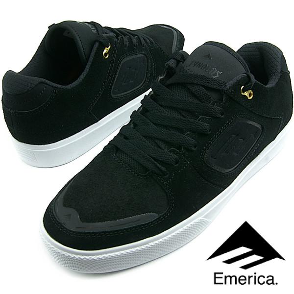 Emerica エメリカ THE REYNOLDS G6 (976) レイノルズ BLACK/WHITE メンズ スニーカー スケシュー スケートシューズ