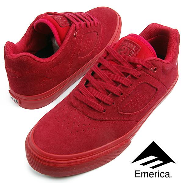 Emerica エメリカ THE REYNOLDS 3 G6 VULC (BAKER COLLABO) (600) レイノルズ 3 RED メンズ レディース スニーカー スケシュー スケートシューズ