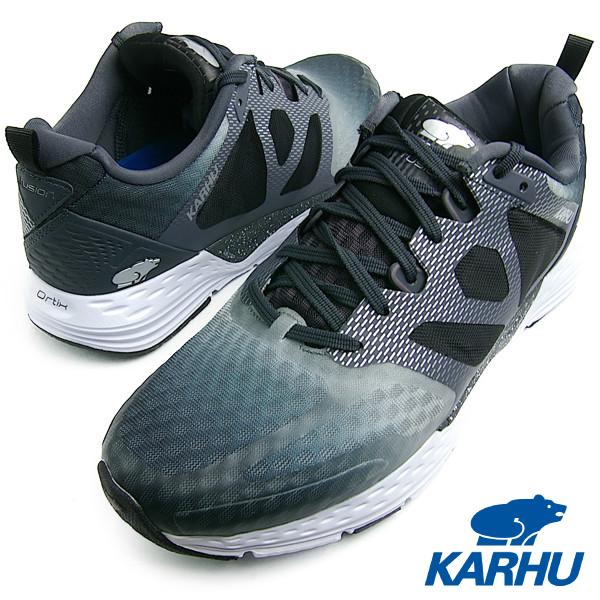 KARHU カルフ FUSION ORTIX MRE ブラック/ペリスコープ メンズ・レディース ランニングシューズ