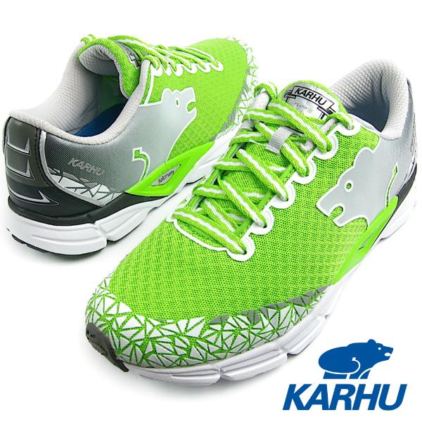 KARHU カルフ Flow6 IRE ジャスミングリーン/チャコール メンズ・レディース ランニングシューズ